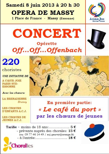 affiche concert Massy